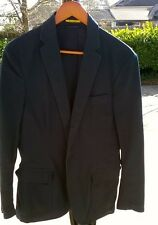 Ralph Lauren Rugby Unstructured Cotton Chino Navy Blazer Sportcoat Slim Medium