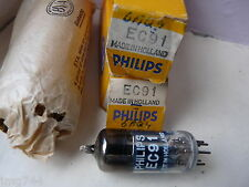 EC91 PHILIPS HOLLAND NOS VALVE TUBE  M13