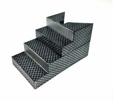 WWE Wrestling Jakks Full Set Upper Lower Ring Steps Stairs Accessory Real Scale