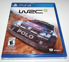WRC 5 for Playstation 4 Brand New! Factory Sealed!