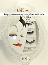 ARDELL* Disney Villain CRUELLA DE VIL 4pc FALSE EYELASHES SET Glitter DAY+NIGHT
