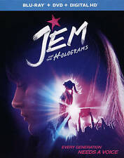 JEM & THE HOLOGRAMS Blu-ray + DVD + DIGITAL HD & UV New w/cover Scratch on UPC