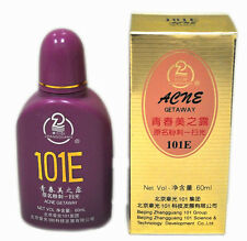 2 Bottle 101E Herbal Lotion great for ACNE Getaway facial red spots marks