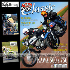 MOTO REVUE CLASSIC N°32-b KAWASAKI 500 750 H2 H1 R H2R MV AGUSTA F 750 MORINI