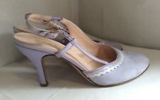 Beautiful Pale Lilac 100% Leather Sing-backs By HOBBS Size 4.5 UK 37.5 EUR