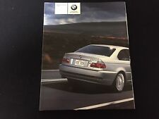 2004 BMW 3 Series Coupe 325Ci 330Ci Original 100 Page Car Brochure