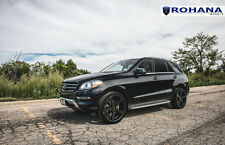 22x9 +30 Rohana RC22 5x112 Black Wheels Fit Mercedes Benz Ml350 2012 Concave Rim