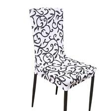 Wedding Party Removable Stretch Slipcovers Dining Lycra Spandex Chair Seat Cover