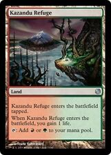 4x Rifugio di Kazandu - Kazandu Refuge MTG MAGIC DD HvM Heroes vs. Monsters Eng
