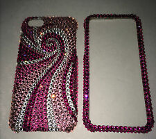 Pink Swirly BLING Crystal CASE FOR IPHONE 6 6s 4.7 made w/ SWAROVSKI ELETS