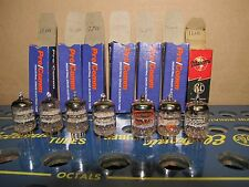 Lot of 7X good used 5842 417A  Amperex  others brand   Amp  Audio Tube Tested