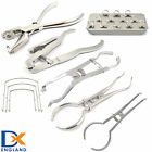 Dental Rubber Dam Instruments Punch Hole Plier Brewer Light Ivory Restorative CE