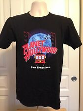 VINTAGE PLANET HOLLYWOOD SAN FRANCISCO T SHIRT SMALL