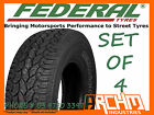 (SET OF4) 265 / 65 R17 FEDERAL A/T ALL TERRAIN TYRE 4WD/SUV /AWESOME QUALITY