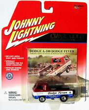 JOHNNY LIGHTNING R12 CLASSIC GOLD DODGE A-100 DODGE FEVER rr
