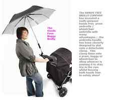 Buggy Brolly, Hands Free Umbrella, UV Protection, Pushchair, Pram Wheelchair ETC