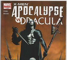 X-Men Apocalypse vs Dracula #1 from Apr. 2006 in VF+ con. Direct Market