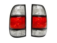 DEPO 2000 2001-2004 TOYOTA TUNDRA RED / CLEAR REGULAR & ACCESS CAB TAIL LIGHTS
