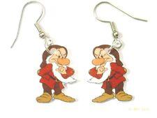 Grumpy Earrings Seven Dwarfs Charms Snow White