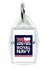 ROYAL NAVY LOGO KEY RING (ACRYLIC)