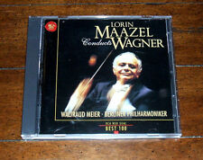 CD: Lorin Maazel Conducts Wagner / RCA Red Best 100 / Classical Japanese Import