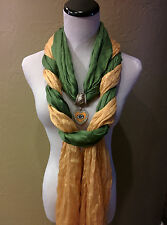 The Ultimate Green Bay Packers Licensed  Jewelry Scarf Combo