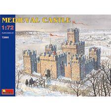 1:72 Kit Modelo Castillo Medieval-Plástico Escala Miniatura fuerte edificio Miniart
