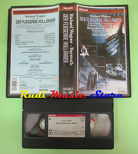 VHS Richard Wagner DER FLIEGENDE HOLLANDER Estes Balslev Cupfer(CL2)no cd dvd lp