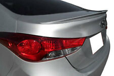 UNPAINTED REAR LIP SPOILER FOR 2011-2016 HYUNDAI ELANTRA - NO DRILLING REQUIRED