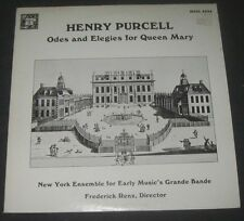 Purcell - Odes And Elegies For Queen Mary Renz / Pauley / Sturk MHS 4234 LP EX