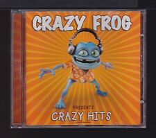 Crazy Frog Presents Crazy Hits by Crazy Frog - VG Used CD (2005) Dance R&B