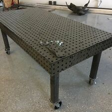 "Welding Fixture/Jig Table 40""x80"" : DXF File"