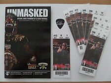 LA KISS- AFL FOOTBALL, 2015 Home Opener, Game Ticket & Program, 4-11-15 Anaheim