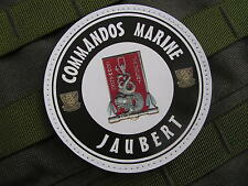 Patch Velcro PVC - COMMANDOS MARINE JAUBERT - art Fantaisie - contre terrorisme