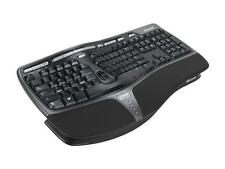 Microsoft Natural Keyboard 4000 for Business 5QH-00001 Black USB Wired Ergonomic