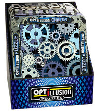 3D Magna Optillusion Cogs Magnetic Puzzle 16 Pieces