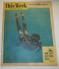 This Week Magazine How They Get Your Vote June 1948 121514R