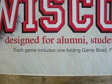 """""""WISCONSINOPOLY"""" Board Game, College Version -""""-Monopoly Styled Game"""