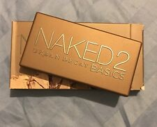 100% AUTHENTIC Urban Decay Naked Basics 2 Eyeshadow Palette New in Box $29