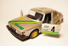 Saab 900 Turbo - Swedish Rallye Rally 1982 Eklund / Spjuth #4, Bburago 1:27 24!