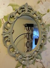 Ornate Mirror, shabby chic, vintage. Bedroom Bathroom Living room. vintage grey