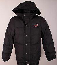 HOLLISTER CALIFORNIA Men RECONDO Down Hooded Coat Jacket Size S - Small