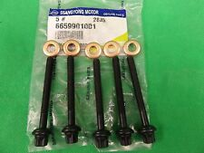 GENUINE SSANGYONG REXTON SUV 2.7L 5CYL TURBO DIESEL INJECTOR BOLT & WASHER SET