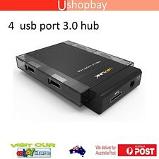 Wavlink USB 3.0 HUB 4 Port External Compact Portable  PC Laptop Mac UH3041