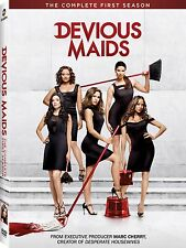 Devious Maids . The Complete Season 1 . Ana Ortiz . Marc Cherry . 3 DVD . NEU