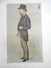 Original Vanity Fair Print of Mr J H Blackburne, Chess, 1888 (Includes Magazine)