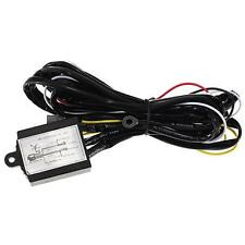 12V DRL Daytime Running Light Relay Harness Auto Car Control On/Off Flash Switch