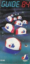 1984 MONTREAL EXPOS BASEBALL MEDIA GUIDE