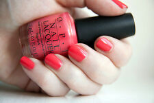 NEW! OPI Nail Polish Vernis I EAT MAINELY LOBSTER ~ Shimmering pinkish coral