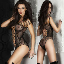 Sexy Women Lingerie Fishnet Body stockings Dress Underwear Babydoll Sleepwear A9